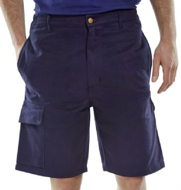 Click Cargo Pocket Shorts Navy CLCPS